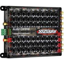 Crossover - 3 Vias Equalizador Soundigital Audio Control Rca
