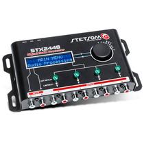 Processador De Audio Digital Stetsom Stx2448 Equalizador