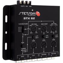 Crossover Stetsom 3 Vias Stx62 6 Canais Mono / Stereo Stx 62