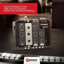 Crossover Taramps Crx4 4 Vias Eletrônico + Frete Grátis