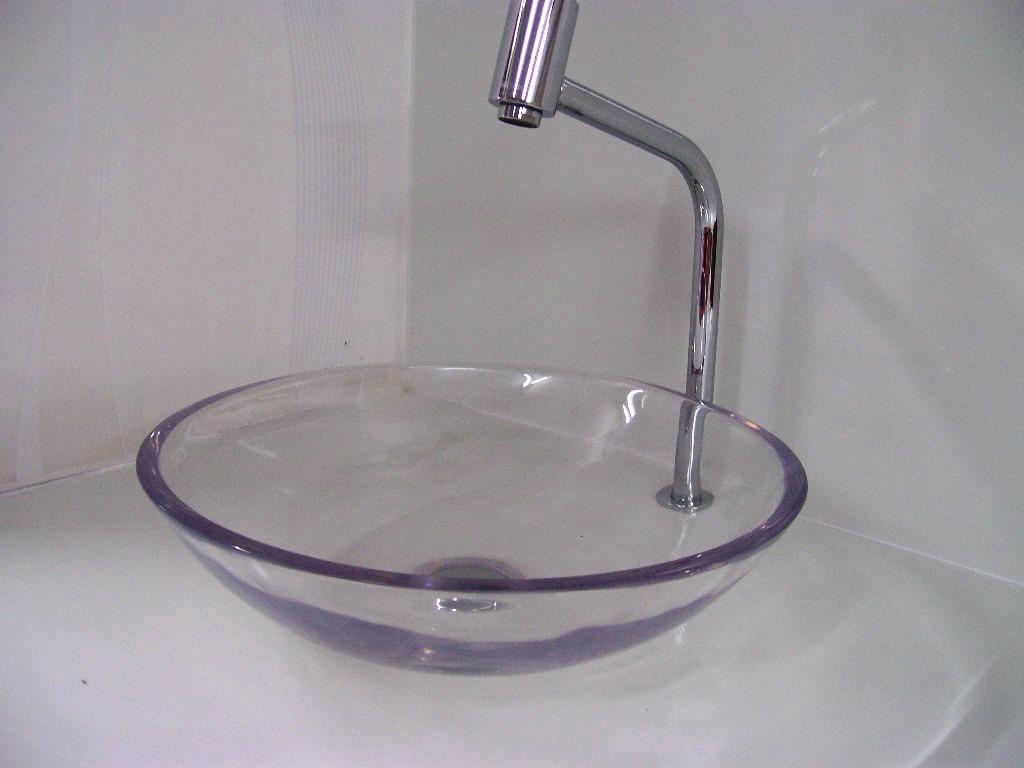 Cuba/pia De Apoio Para Banheiro 36cm Incolor Transparente R$ 159 00  #413848 1024 768