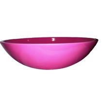 Cuba/pia De Apoio Para Banheiro 36cm Rosa - Cor Sólida