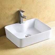 Cuba Banheiro De Sobrepor Porcelana Vitrificada Linda 8025