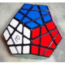 Megaminx Qj Adesivado Dodecaedro Speedcubing Envio Rápido