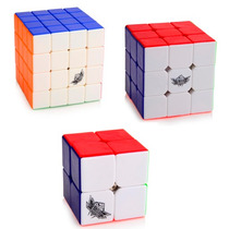 Kit Cubo Mágico Cyclone Boys 2x2x2 3x3x3 4x4x4