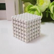 Cubo Magnético Neocube Branco 5mm 216 Pcs - White Buckyballs