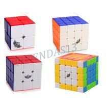 Kit Cubo Mágico Cyclone Boys 2x2x2 3x3x3 4x4x4 5x5x5