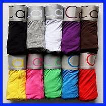 Cuecas Calvin Klein Original Em Algodão Box Boxer Kit Com 6