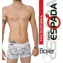 Kit 5 Cuecas Boxer Microfibra Ou Algodão Atacado F.grátis