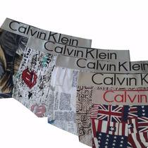 Kit 20 Cuecas Calvin Klein Estampadas Sortidas Lisas