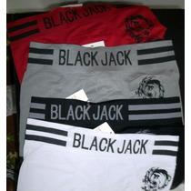 Cuecas, Box, Black Jack, Originais, Atacado, ( Dúzia )