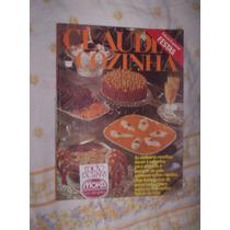 Raro Revista Claudia Cozinha 1979 Edição Especial Festas