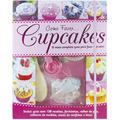 Livro C/128 Receitas Como Fazer Cupcakes + Acessórios