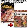 Livro Biblia Do Churrasco Especial + Guia Churrasco Receita