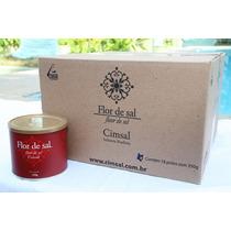 Flor De Sal Cimsal - (caixa Com 18x350g) - Gourmet