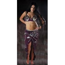 Roupa Sensual Para Dança Do Ventre - Egipcia - Fantasia Sexy