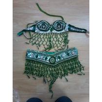 Roupa Dança Do Ventre (belly Dance) Verde