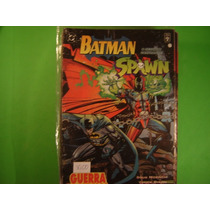 Cx B 102 Mangá Hq Dc Batman Spawn O Segundo Confronto
