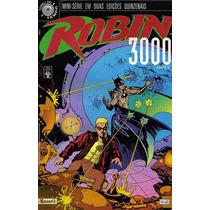 Robin 3000 - Mini-série Completa (2 Edições) - Abril 1993