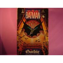 Cx B 04 Mangá Hq Coleção Dc Um Conto De Batman Gothic 1 De 5