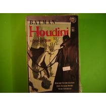 Cx B 105 Mangá Hq Dc Batman Houdini A Oficina Do Diabo