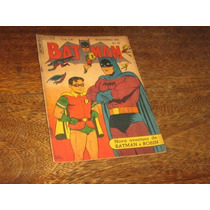 Batman 1ª Série Nº 33 Novemb/1955 Editora Ebal Original Raro