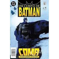 Um Conto De Batman - Coma 01 02 03 - Mini Tres Série Edições