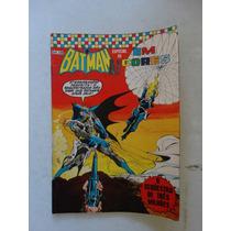 Batman Especial Em Cores Nº 32! Ebal Jun 1973!