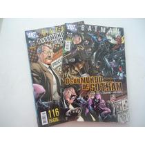 O Submundo De Gotham #01 E #02 Completo Ano 2009