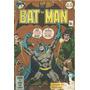 Batman Nº 18 Ebal - Mensal - Nov/77 - Formatinho