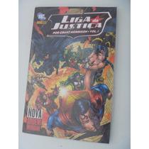 Liga Da Justica - Capa Dura- Grant Morrison - Volume 1