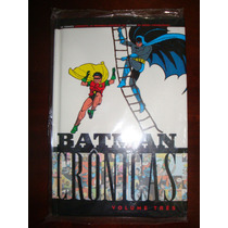Batman Crônicas Vol.3 - Bob Kane! Hq Década De 40! Panini!