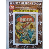 Gibi: Batman Nº 86 - 3ª Série - 02/1977 - Ed. Ebal