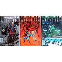 Super Homem Versus Aliens 01 02 03 - Mini Serie Tres Edicoes