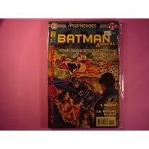 Cx B 42 Mangá Hq Coleção Dc Pulp Heroes Batman Anual 21