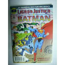 Liga Da Justiça E Batman - Nºs 01 E 02 E 21 À 24 - Formatinh