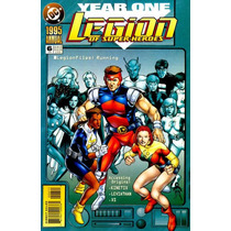 Legion Of Super-heroes Annual Nº 6 - Year One