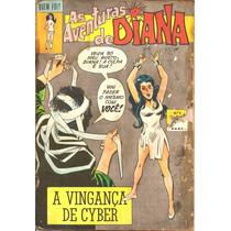 Quem Foi? Nº 8 - As Aventuras De Diana - Maio/1973 - Ebal