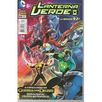 Lanterna Verde 39 Novos 52 - Panini - Bonellihq Cx311