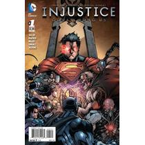Hq Injustiça - Deuses Entre Nós 01 A 33 Digitalizado