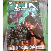 Lja - Liga Da Justiça Nº 52, 1ª Série, Panini, Aurora Da Des