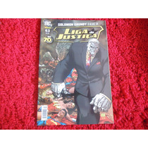 Lja - Liga Da Justiça Nº 63, 1ª Série, Panini, Solomon Grund
