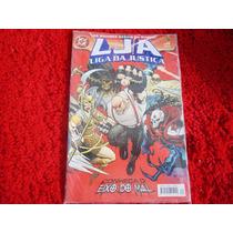 Lja - Liga Da Justiça Nº 24, 1ª Série, Panini, Conheça O Eix