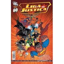 Hq - Gibi - Liga Da Justiça Panini Comics Nº 60 Ano 2007