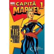 Capitã Marvel Panini Coleção Completa 3 Volumes
