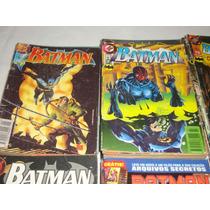 Lote De 36 Gibis Coleção Batman Dc. Excelente* Veja