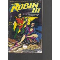 Robin 3 Mini-série Em 3 Edições - Editora Abril