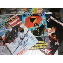 Falcão Negro Mini-serie Em 3 Edições - Ed. Abril