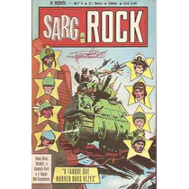 O Herói Nº 2 - Sargento Rock - 2ª Série - Ebal - 1978