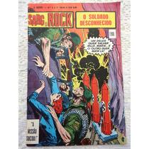 O Herói Nº 3: Sargento Rock - 2ª Série - Ebal - 1978